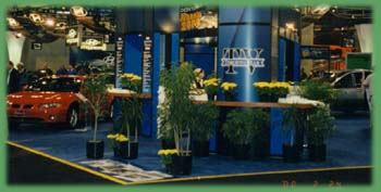 Decorate Your Booth with Amherst Rental Plants